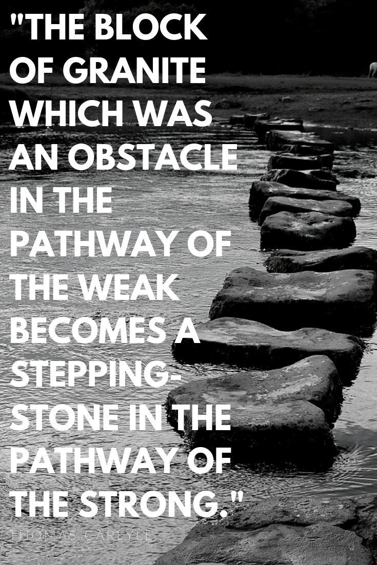 strong vs weak, push through obstacle